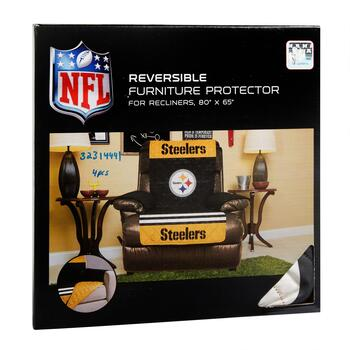 NFL Pittsburgh Steelers Reversible Recliner Cover