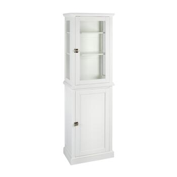 "68.25"" White Scarsdale Cabinet"