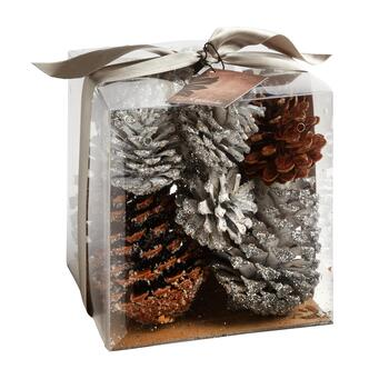 Glitter Scented Large Pinecones Box
