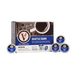 Victor Allen's® Seattle Dark Coffee Pods, 42-Count