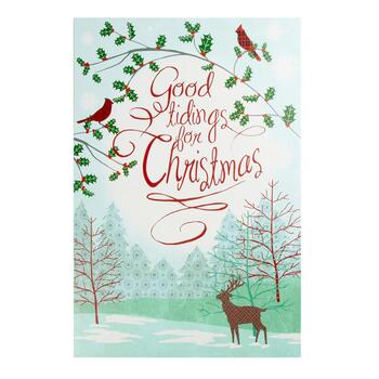 "24""x36"" ""Good Tidings for Christmas"" Wall Decor"