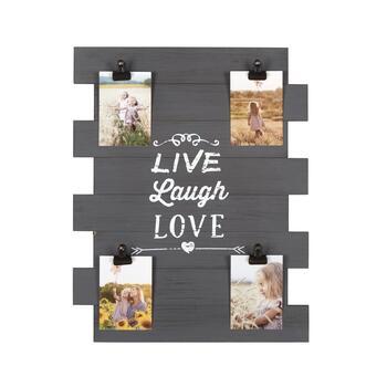 The Grainhouse Trade 16 X20 Black Live Laugh Love Photo