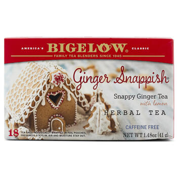 Bigelow® Ginger Snappish Herbal Tea, 18-Bags view 1
