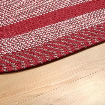 Indoor/Outdoor Braided All-Weather Oval Rug view 2
