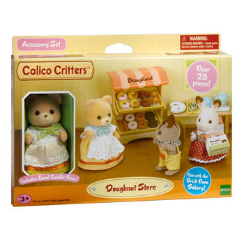 Calico Critters™ Doughnut Store Play Set view 1