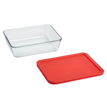 Pyrex® 6-Cup Rectangular Glass Storage Container