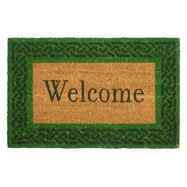 "Irish ""Welcome"" Coir Door Mat"