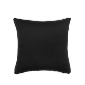 Traditions by Waverly® Solid Black Indoor/Outdoor Square Throw Pillow
