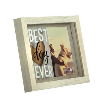 "7.5""x9.25"" ""Best Dog Ever"" Picture Frame"