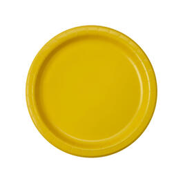 "YELLOW SOLID 7"" 60CT view 1"