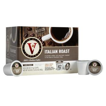 Victor Allen's® Italian Roast Coffee Pods, 42-Count