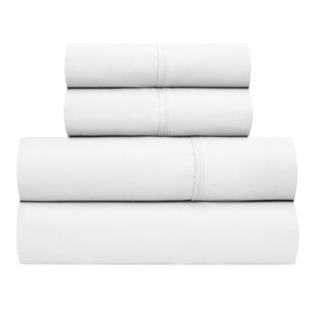 800-Thread Count Cotton Blend Solid Sheet Set