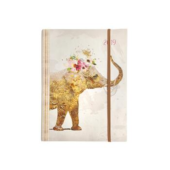 Gold Elephant 2019 18-Month Planner