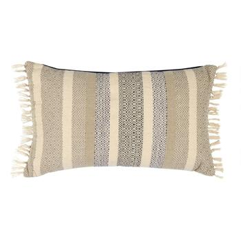 The Grainhouse™ Striped Fringe Throw Pillow