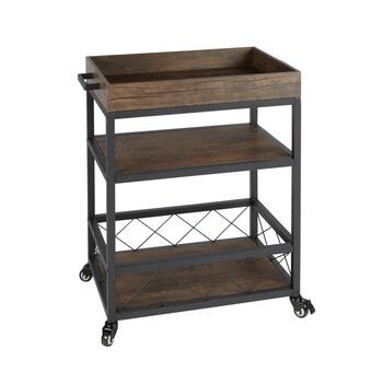 The Grainhouse™ Industrial Bar Cart