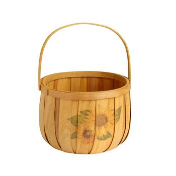 Sunflower Farm Bushel Basket