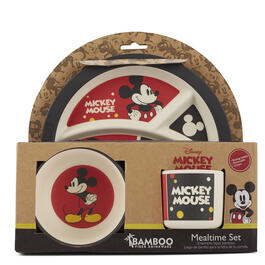 Mickey Mouse™ 3-Piece Mealtime Set view 1