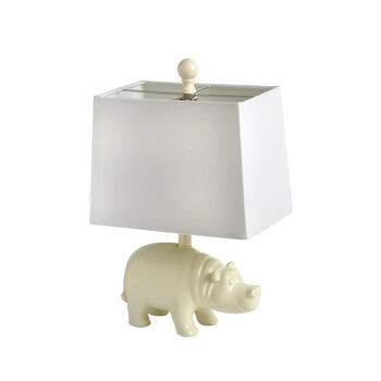 "16"" Hippo Accent Lamp"