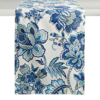 Waverly® Blue Floral Table Runner view 1