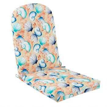 Seashells Indoor/Outdoor Adirondack Chair Pad