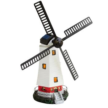 "20"" Solar Power LED Windmill Decor"