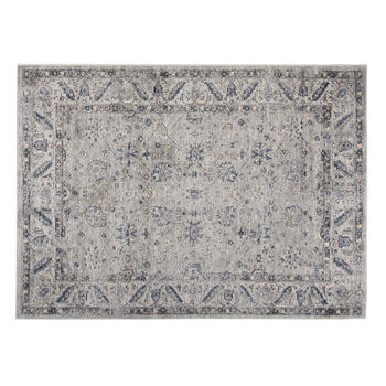 The Grainhouse™ Gray/Blue Faded Traditional Area Rug view 1