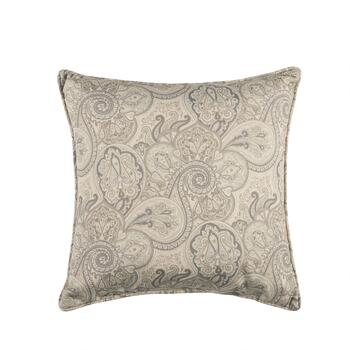 Traditions By Waverly Paisley Indoor Outdoor Square Throw Pillow
