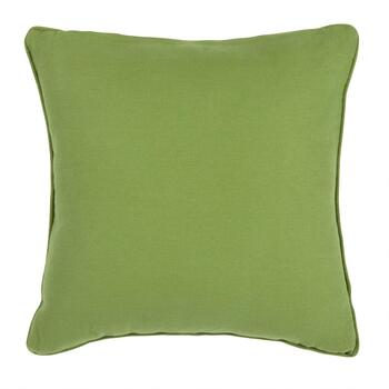 Sari Embroidered Square Throw Pillow view 2