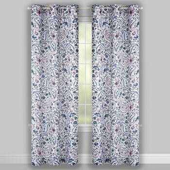 "84"" Crawford Braely Grommet Window Curtains, Set of 2 view 2"