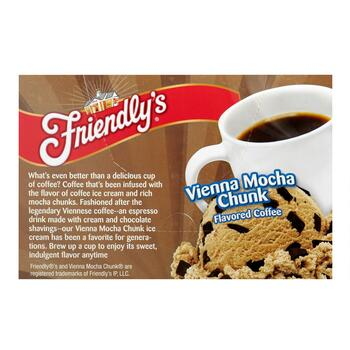 Friendly's® Vienna Mocha Chunk Flavored Coffee Pods, 6 Boxes view 2
