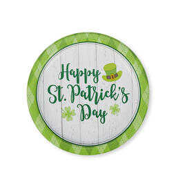 "Happy St. Patrick's Day Lucky Day 9"" Paper Plates 40-Count view 1"