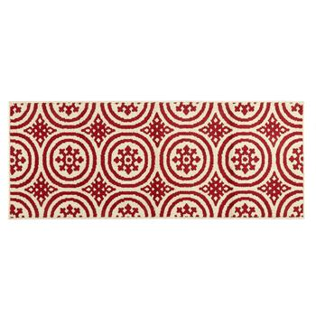 Mohawk Home Crimson Patterned Circles Accent Rug view 2