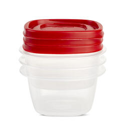 Rubbermaid® EZ Find Lids 1 Cup/2 Cup Food Storage Container 3-Pack view 1