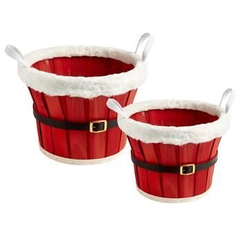 Santa Belt Basket