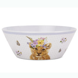 Kids Lion Floral Bowl view 1