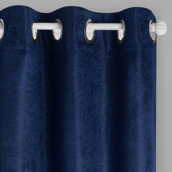 "84"" Solid Grommet Blackout Window Curtains, Set of 2 view 1"