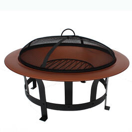 "30"" Copper Fire Pit view 1"