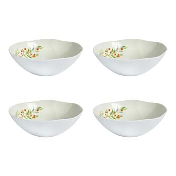 """Gather"" Heavyweight Melamine Bowls, Set of 4"