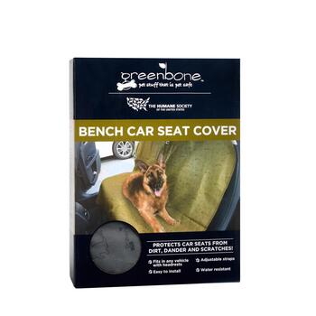 Humane Society Waterproof Bench Car Seat Pet Cover