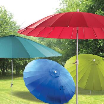 10' Solid Crank and Tilt Shanghai Umbrellas