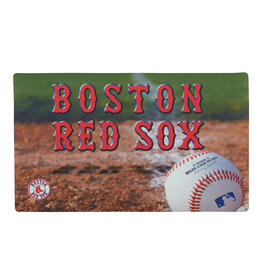 MLB Boston Red Sox High-Definition Rubber Door Mat view 1