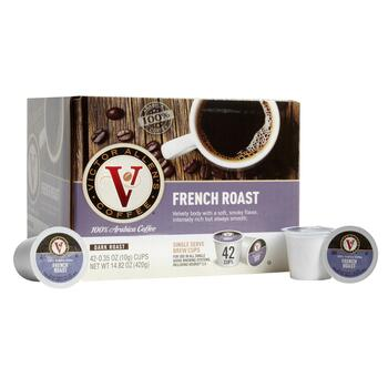 Victor Allen's® French Roast Coffee Pods, 42-Count