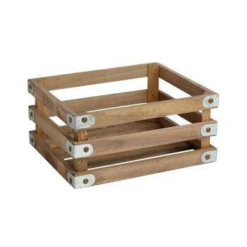 The Grainhouse™ Rectangular Wood/Metal Crate