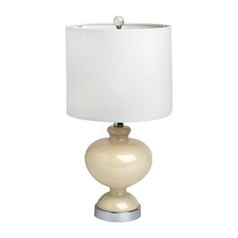 "20"" Glass Urn Table Lamp"