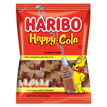 Haribo® Happy Cola 5 Ounce Gummi Candy view 1