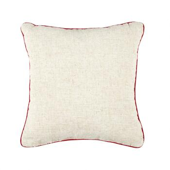 """Home For the Holidays"" Square Throw Pillow view 2"