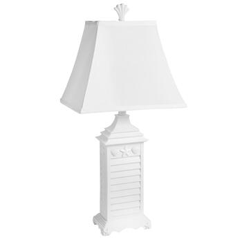 "29"" Shutter Base Table Lamp"
