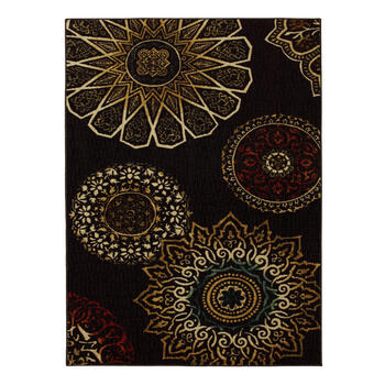"7'5""x10' Mohawk Home Brown Medallion Area Rug view 1"