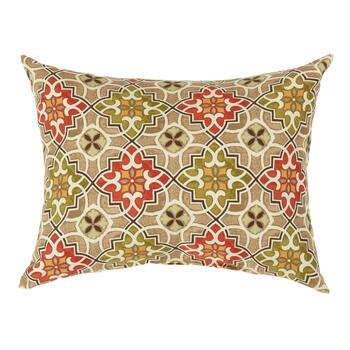 Desert Tile  Indoor/Outdoor Oblong Throw Pillow