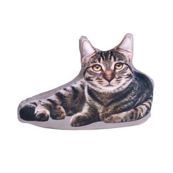 Laying Cat Photorealistic Door Stopper view 1